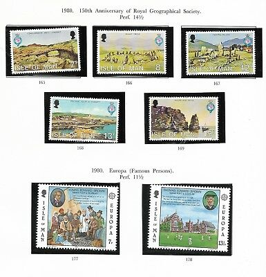 Collection Of Isle Of Man Mint Stamps (17)