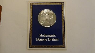 Betjeman's Bygone Britain Landmarks The Arcades of Bristol 1oz Silver