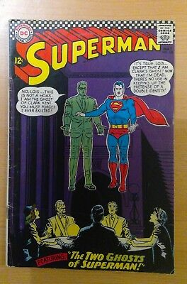 DC Superman comic - no 186 - May 1966 - vg condition