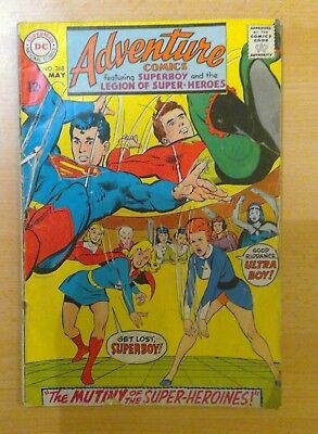 DC Adventure comic - No. 368 - May 1968 - vg/f condition