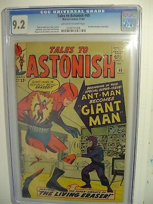 Tales To Astonish #49 (1959) Ant-Man Becomes Giant Man 1st Giant-Man Avengers