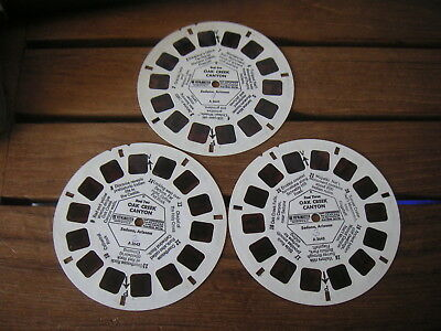 3 Viewmaster Disk Oak Creek Caynion