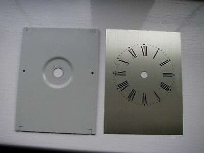 VINTAGE Clock Part ( Dial & Back Plate)