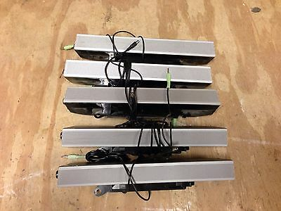 Dell Sound Bar Stereo Speaker AS501 UH837 Monitor Ultrasharp ** LOT of 5 **