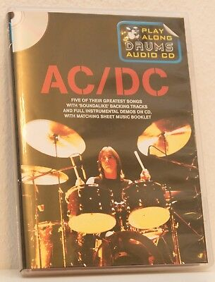 AC/DC, Play Drums with AC/DC, Play Along Drums, Audio CD