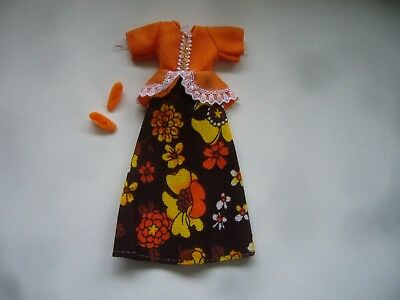 Vintage 1970s Palitoy Pippa Doll Outfit - Madrid Collection Lacy Luxury & Shoes