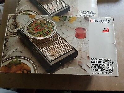 Pair of Brabantia Two Burner Food Warmers used once boxed