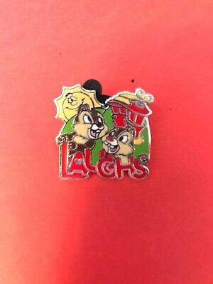 Disney DLR 2007 Hotel Dreams Collection  Chip & Dale Laughs Pin