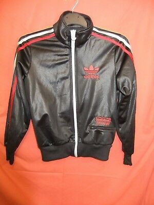 "12) Adidas Chille 62 tracksuit jacket top 36"" chest UK 8-10 Rare Retro Vintage"