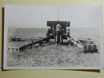 WW2 Japanese Army Picture of the Type 92 10 cm cannon.Very Good