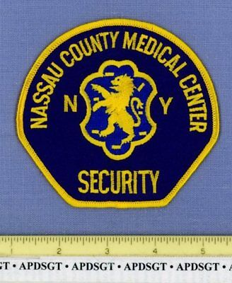 NASSAU COUNTY MEDICAL CENTER SECURITY NEW YORK Sheriff Hospital Police Patch
