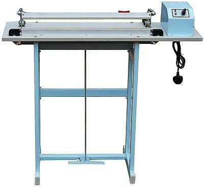 "24""/60Cm/600Mm Foot Pedal Impulse Heavy Duty Heat Sealer Machine With Cutter"