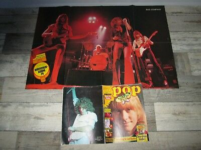 Pop 9/75 - Sweet-Brian Connolly-Kiss-Suzi Quatro-Status Quo-Bad Company-The Who