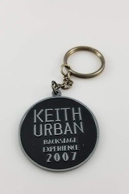 2007 Keith Urban Backstage Experience Keychain