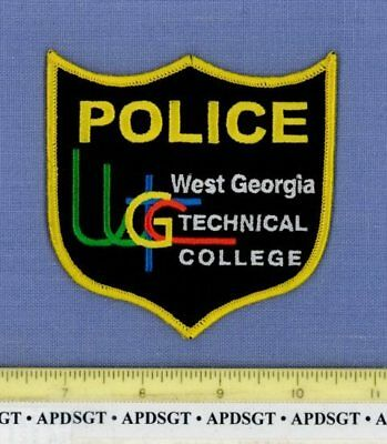 WEST GEORGIA TECHNICAL COLLEGE Sheriff School Campus Police Patch WGTC