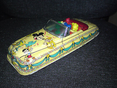 Disney Parade Car Marx Toys USA 1950er Jahre