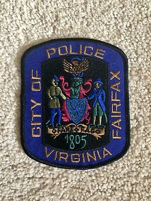 City Of Fairfax Police SWAT Patch Virginia