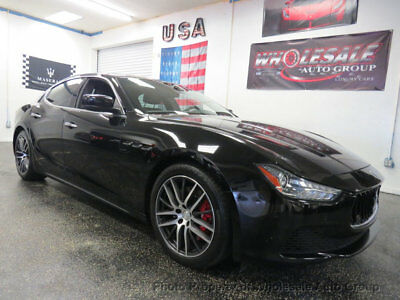 2015 Maserati Ghibli 4dr Sedan S Q4 ONE OWNER CARFAX CERTIFIED. MUST SEE. NATIONWIDE SHIPPING. WHOLESALE PRICE