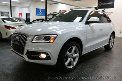 2017 Audi Q5 S LINE FULLY LOADED. CARFAX CERTIFIED. MUST SEE. NO DEALER FEE. NATIONWIDE SHIPPING