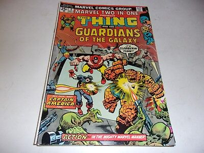 Marvel Two-In-One # 5--Thing,2nd appearance Guardians of Galaxy--1974--VF-