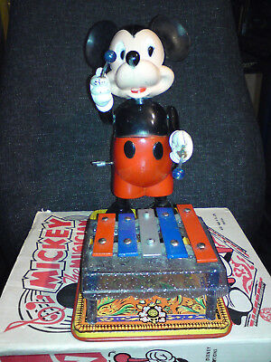 Marx Toys Mickey Mouse Xylophonplayer OVP