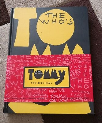 The Who Tommy The Musical Hardback Book And Cd I Believe My Own Eyes 1993 Rare