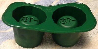 Jagermeister - Ice Shot Mold - Makes 2 Ice Shot Glasses - NEW