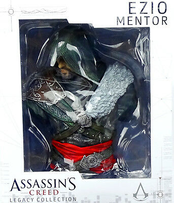 ASSASSIN`s CREED LEGACY COLLECTION EZIO MENTOR BÜSTE VON UBICOLLECTIBLES