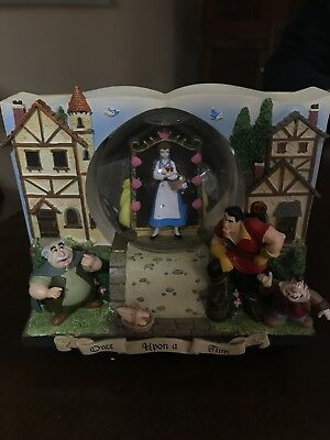 Disney Beauty and the Beast Double Sided Snowglobe