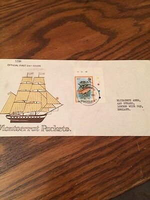 Montserrat West Indies Stamps First Day Cover 1981