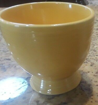 Vintage  Yellow Fiesta  Egg Cup