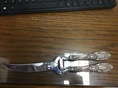 Sterling Silver Handle Vintage Voos Poultry Shears