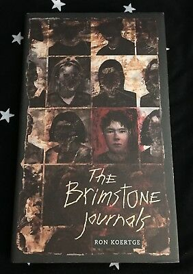 THE BRIMSTONE JOURNALS by Ronald Koertge 2001 Hardcover New Young Adults Fiction