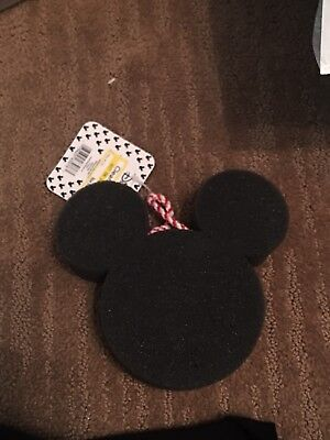 Disney Target Mickey Mouse Head Foam Sponge For the Shower.  NWT