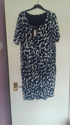 marks and spencer collection dress size 22