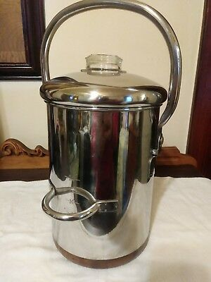 Vintage Revere Ware 14 Cup Coffee Maker-copper Clad. 😀