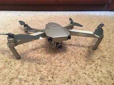 DJI Mavic Pro Platinum Drone Fly More Combo Silver (Used 1 week, with extras)