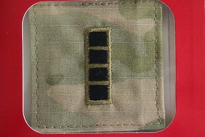 Us Army Gi Multicam Ocp W-4 Cw4 Hook Back Camouflage Camo Uniform Rank Patch