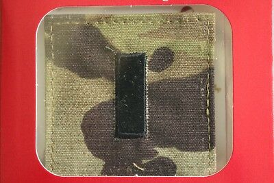Us Army Gi Multicam Ocp O-2 1Lt Hook Back Camouflage Camo Uniform Rank Patch