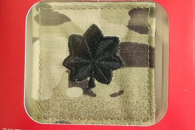 Us Army Gi Multicam Ocp O-5 Ltc Hook Back Camouflage Camo Uniform Rank Patch