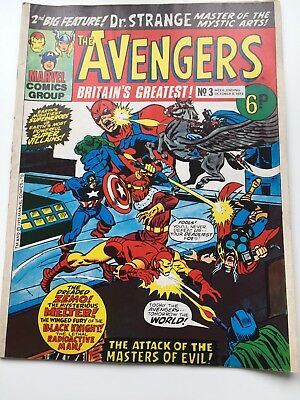 The Avengers / No.3 (Oct 06 1973) Marvel Comics (see details)