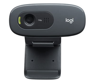 Logitech C270 Webcam HD 720p - microphone - USB - widescreen  - USED - TESTED