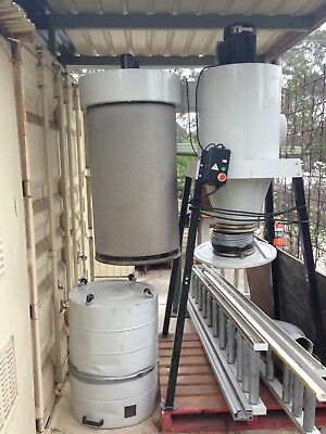 Dust Extractor and Ducting. Excellent condition.