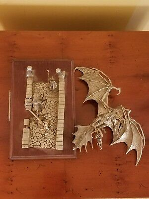 Rawcliffe pewter miniatures Ral Partha AD&D Dungeons Dragons Bridge of Sorrows!!