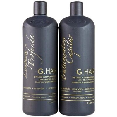 GHAIR - Moroccan Brazilian blowout keratin kit 1000mi - MADE BY INOAR BRAZIL