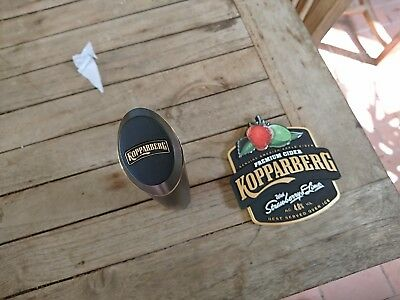 KOPPARBERG BADGE  Strawberry Lime Cider and Tap unused new