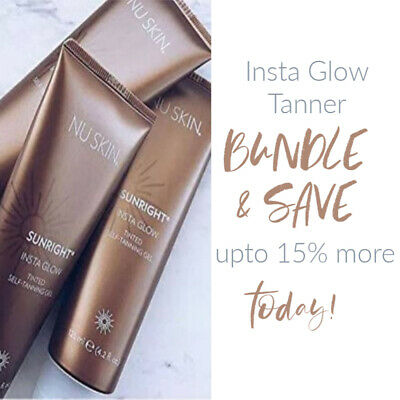 2018 New Product | Nu Skin Sunright® Insta Glow | Free Shipping Australia Wide !