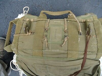 Vintage World War II Type T-7 Chest Pack, 24 ft, Dated Feb17, 1945 Reduced