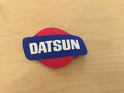DATUSN PATCH, IRON ON, NEW OLD STOCK 1980'S,set of 2