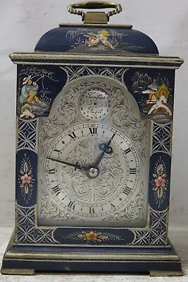Very Nice Japanese Lacquer Clock - Stunning Design - Working Order - Rare L@@k